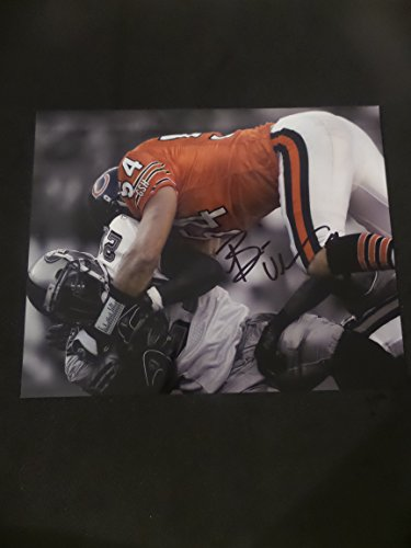 Brian Urlacher Signed Chicago Bears Autographed 8x10 Photograph