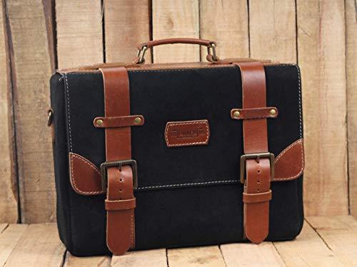 Trip Machine Company Leather Hybrid Saddlebag Warrior Tan ()