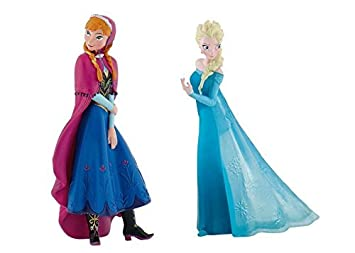 Image Unavailable Not Available For Color Disneys Frozen Elsa And Anna Birthday Party Cake Toppers