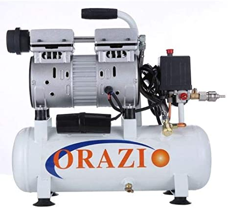 241183 Silencioso Tipo Aire Compresor 65DB 600W 9L Para Móvil ...