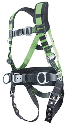 Miller by Honeywell R10CN-TB-BDP/UGN REVOLUTION-Construction Harness with Universal Side D Ring