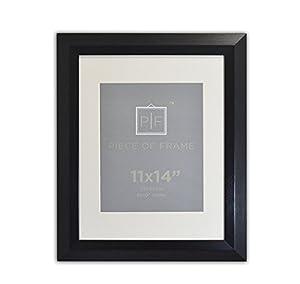 Amazon Com Golden State Art 11x14 Brushed Black Color