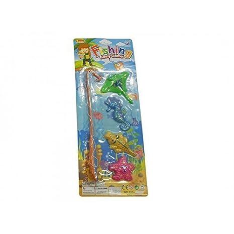 Juego de pesca para niños con Estrella de mar, Crocodilo ...