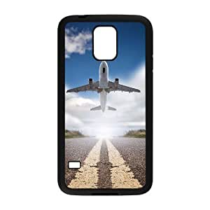 Airplane Takeoff High Qulity Customized Cell Phone Case for SamSung Galaxy S5 I9600, Airplane Takeoff Galaxy S5 I9600 Cover Case