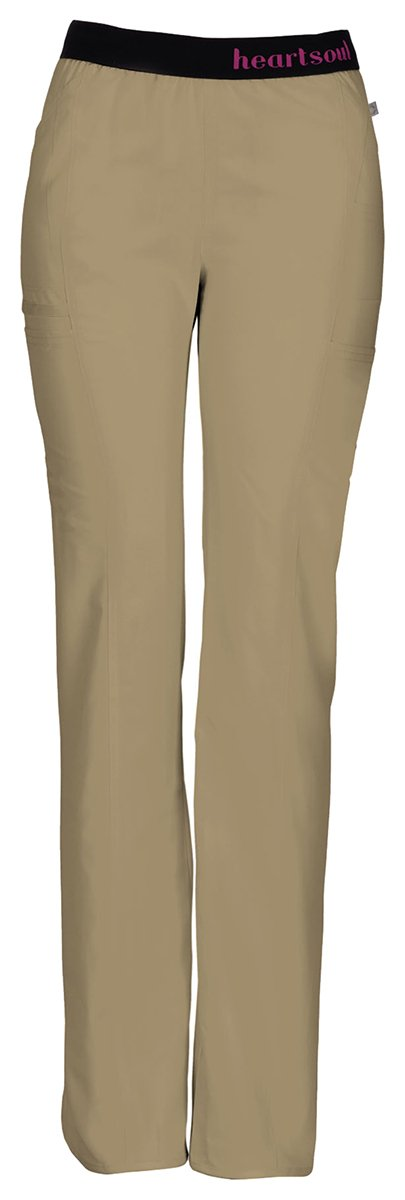 HeartSoul Women's Tall So in Love Pull-On Pant_Dark Khaki_X-Large,20101AT