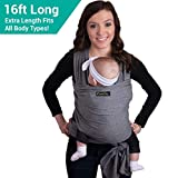Best Baby Wrap Carriers - 4-in-1 CuddleBug Baby Wrap Carrier | 9 COLORS Review