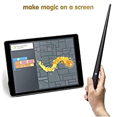 Build your own wand. Learn to code with step-by-step creative challenges. Make magic on a screen, with a wave, twist, and twirl. Create, share, and play with the Kano community.