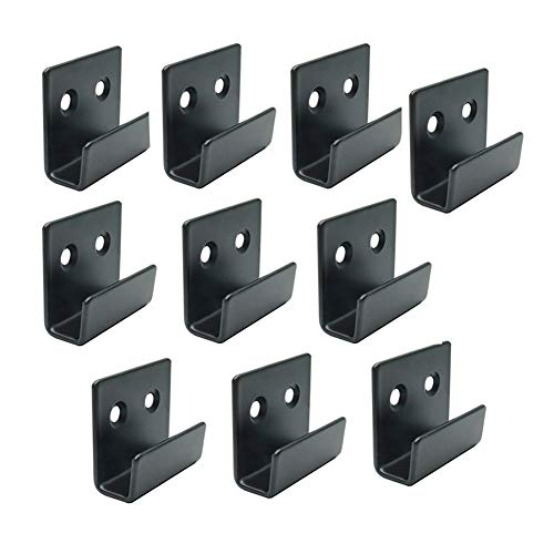 Rannb Wall Mounted Hook Fastene for Ceramic Tile Display Small Size - Pack of 10