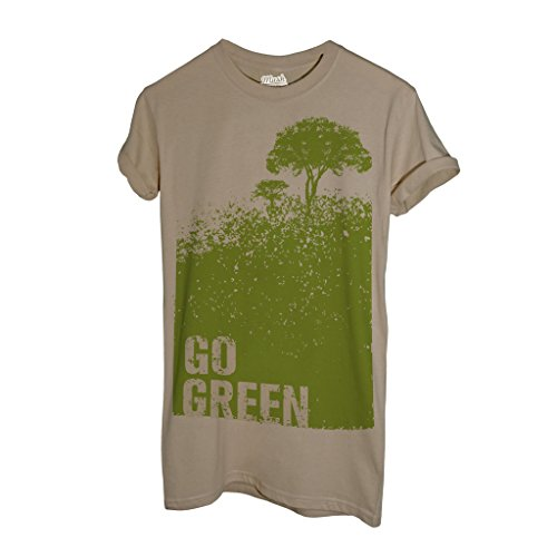 T-Shirt Go Green Ambiente - MUSH by Mush Dress Your Style