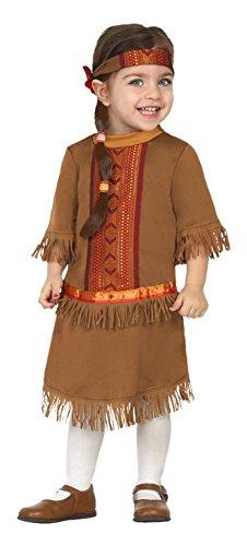 Atosa - 27697 Disfraz India, Color Marrón, 12 a 24 meses, 27697