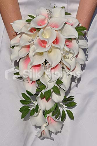 Bouquet Da Sposa Con Calle.Silk Blooms Ltd Bouquet Da Sposa Con Calle E Fogliame