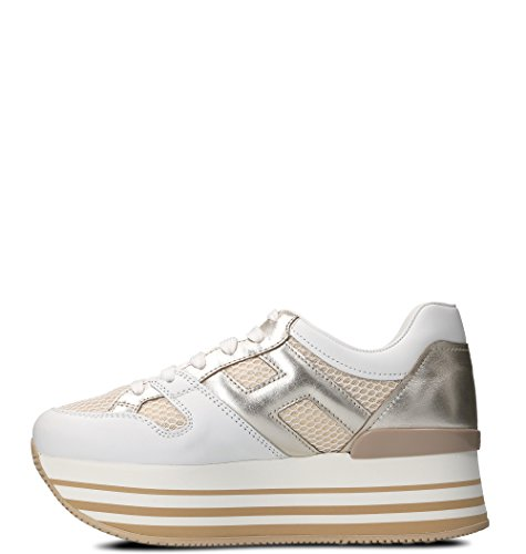 outlet visa payment Hogan Women's HXW2830U352IGA0L0S White Leather Sneakers outlet fast delivery koYmvbVpO