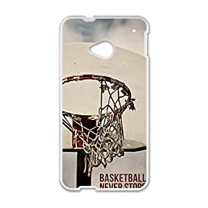 ZFFcases basketball never stops Phone Case for HTC One M7