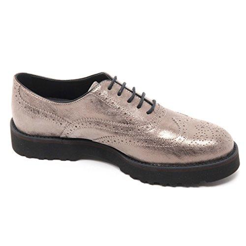 HOGAN woman B5910 H259 ROUTE scarpa shoe Tortora donna inglese francesina tortora Azrxt4zq