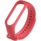 mStick Red Replacement TPU Sillicon Band Strap for Xiaomi Band 3 | Mi Band 3