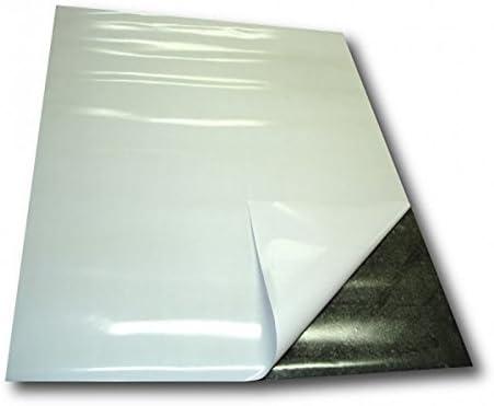Lámina magnética autoadhesiva 0,4mm x 0,62m x 1m - puedes adherir ...