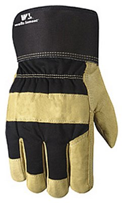 Wells Lamont Work Gloves with Palomino Grain Pigskin, Leather Palm, Pf100 Thermofill