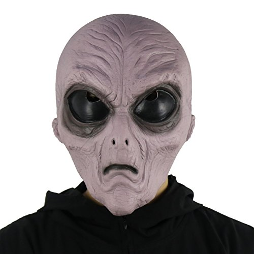 FantasyParty Halloween Novelty Mask Costume Party Latex Alien
