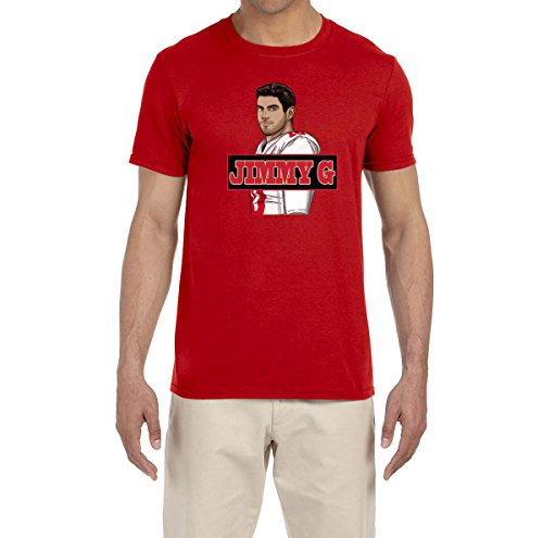 Tobin Clothing RED San Francisco Jimmy G T-Shirt Adult Large