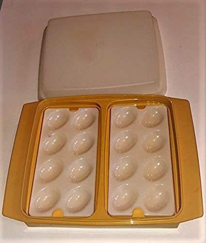 Tupperware Vintage Gold Deviled Egg ()