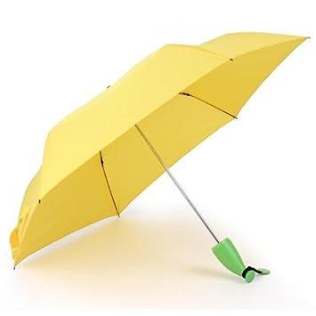 Dcolor Paraguas Paraguas Paraguas impermeable anti UV Protection Unisex Sol para Enrolle
