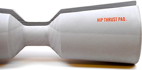 "Hip Thrust Pad by IPR Fitness ""Patent Pending"" Barbell Pad - Handmade in the USA (Titanium / Soft, Standard 16"" x 5"
