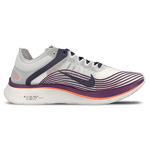Nike Mens Zoom Fly Fabric Low Top Lace Up Running Sneaker, Multicolor, Size 6.0