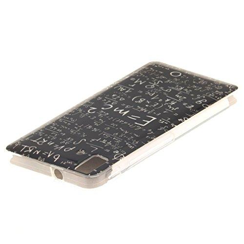 KATUMO® Buena Funda BQ E5, Transparent Gel Case Cover Carcasa Bumper para BQ Aquaris E5 Funda de Piel Protectora Carcasa Dura Cubierta Caja-Búho Fórmula