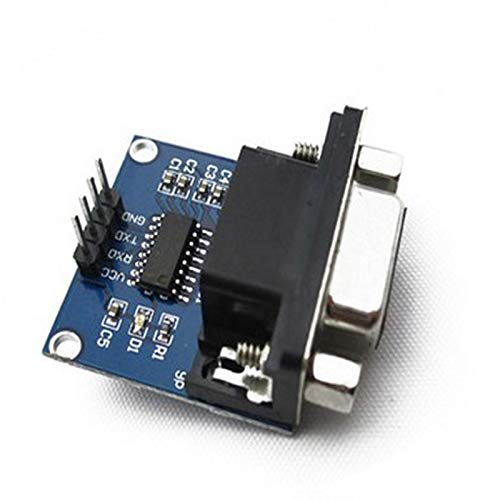 10pcs MAX3232 RS232 to TTL Serial Port Converter Module Female DB9 Connector MAX232