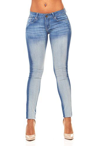 Stone Washed Skinny Jeans for Women Slim Fit Stretch Ankle Jeans Junior Size 15 / Acid Wash Denim (Womens Stonewashed Jeans)