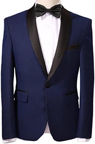YOUTHUP - Vestido de Noche para Hombre, Color Azul Azul Azul S ...