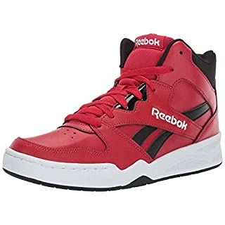 Reebok mens Royal Bb4500 Hi2 fashion sneakers, Excellent Red/Black/White, 8.5 US
