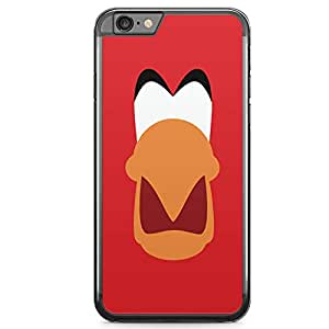 Loud Universe Iago from Aladdin Face design iPhone 6 Plus Case Aladdin Classic Cartoon Network iPhone 6 Plus Cover with Transparent Edges