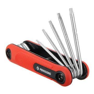Hexagonal Screwdriver Set - Sports & Outdoor - 1PCs by Unknown