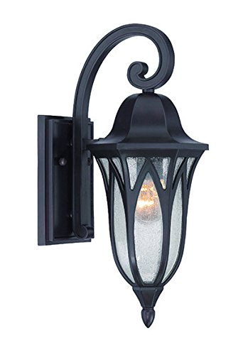 Acclaim 39802ORB Milano Collection 1-Light Outdoor Light Fixture Wall Lantern, Oil Rubbed Bronze by Acclaim