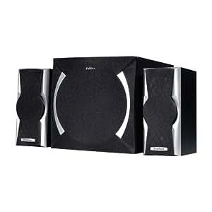 Edifier X600 conjunto de altavoces - Set de altavoces (2.1, 30W, PC, Integrado, 10%, 85 Db) Negro
