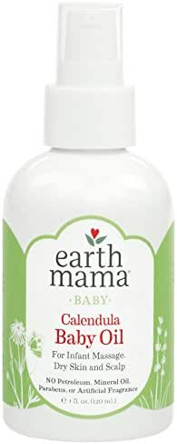Baby Lotion: Earth Mama Baby Oil