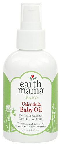 - Earth Mama Calendula Baby Oil for Infant Massage 4-Fluid Ounce