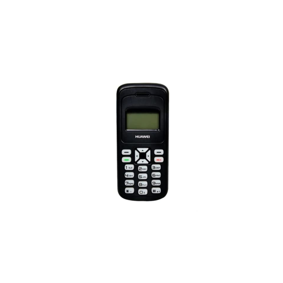 HUAWEI G1000 Unlocked GSM Phone with Wireless FM Radio, Multi Party Calling, Shared SMS and Torch Light   Black