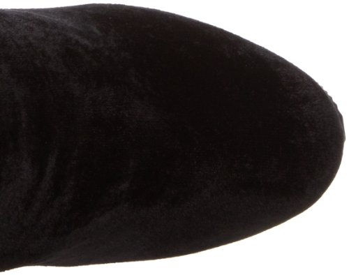 PleaserADORE-3002 - Botas y botines clásicos por encima de la rodilla sin forro Mujer Negro (Negro (Blk Str Velvet/Blk))