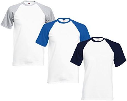 Camisetas de Béisbol para Hombre (Paquete de 3) FM® Tshirt de ...