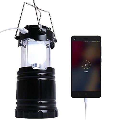 Sijueam Multifonction Led De Camping Rechargeable Lampe Solaire ARLc5S4j3q
