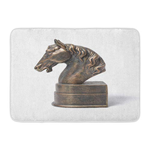 tique Book Bronze Statuette of Horse White Bust Holder Bathroom Decor Rug 16