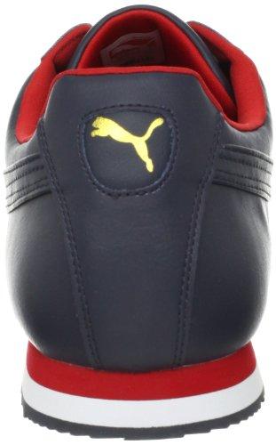Puma - Zapatillas para hombre New Navy/Red