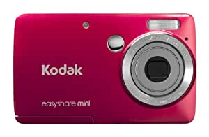 Kodak EasyShare Mini M200 10 MP Digital Camera with 3x Optical Zoom and 2.5-Inch LCD - Red