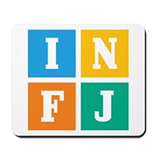 INFJ Non-slip Rubber Mousepad