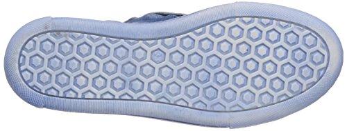 HIP H1790 - zapatillas deportivas altas de cuero infantil azul - Blau (46CO)