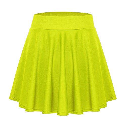 Femme Clair Vert Acevog Femme Jupe Vert Jupe Acevog qTXwWSR