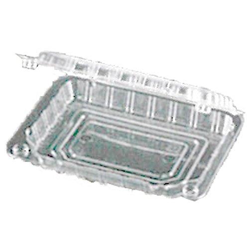 【2400枚】 VFK90A 4穴 透明 124×96×高21(13+8)mm CP003426 OPS みょうが 青果物容器 エフピコチューパ カ施代不 B06XVWRXCN