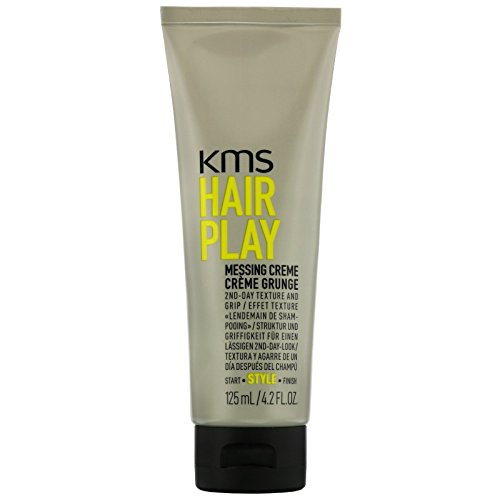 Kms California Hair Play - KMS California Hair Play Messing Crème, Provides 2nd Day Texture and Grip, 125 mL/4.2 oz.